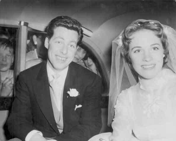 Julie Andrews And Tony Walton