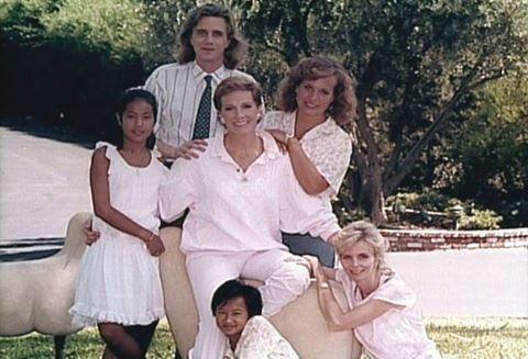 Julie & her Children