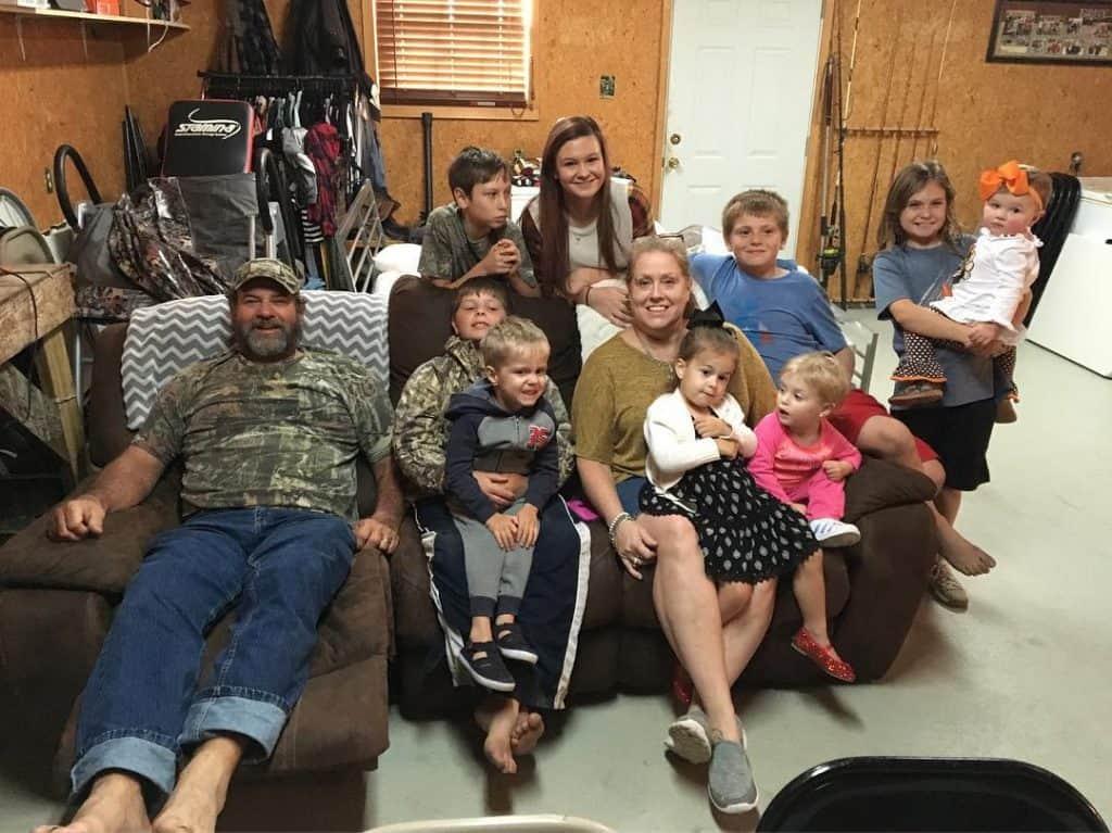 Harlan Hatcher Family