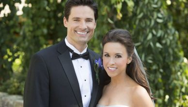 David Nehdar and Lacey Chabert