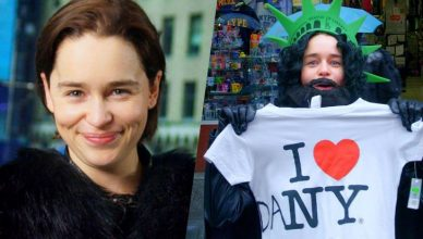 Emilia-Clarke Pranks Times Square