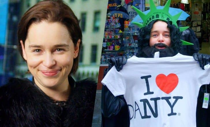 5e1b72db2 Emilia Clarke Prank, Reactions, Disguise As King In The North