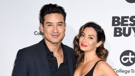 Mario Lopez with his longtime married wife Courtney Mazza