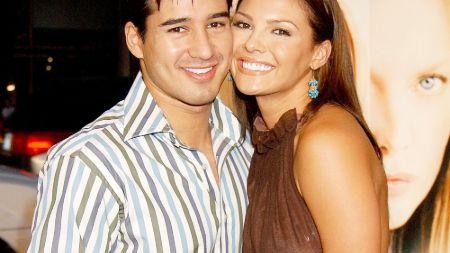 Mario Lopez with his ex wife Ali Landry.