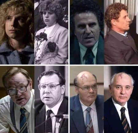HBO Chernobyl cast