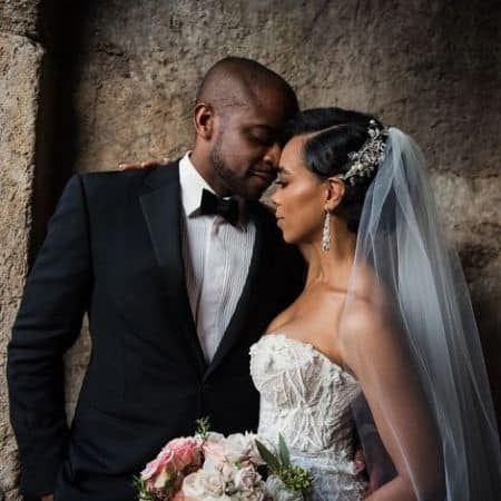 Dule Hill married his wife in 2018