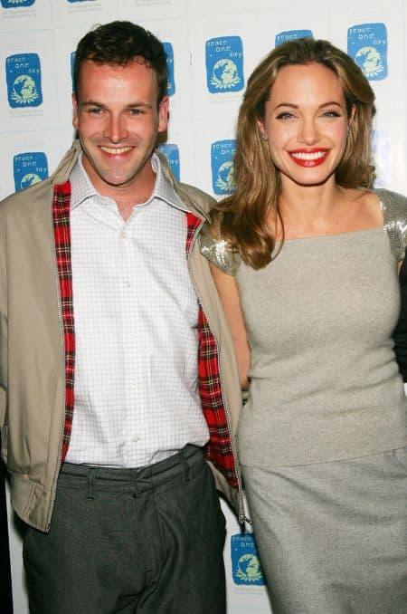 Jonny Lee Miller ex-wife Angelina Jolie
