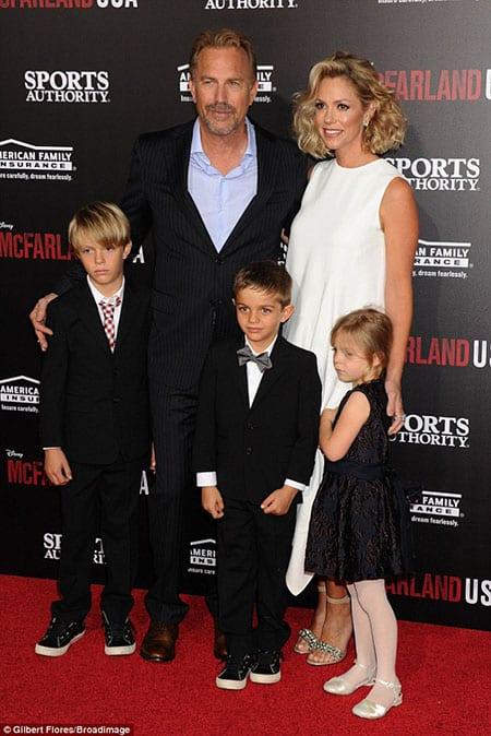 Kevin Costner married