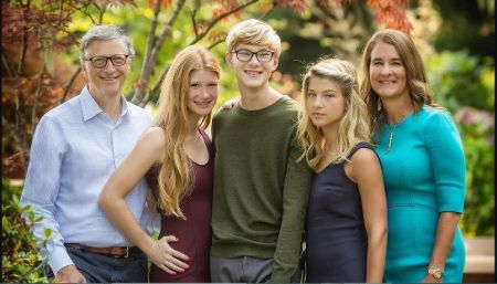 Pheobe Adele Gates family and siblings.