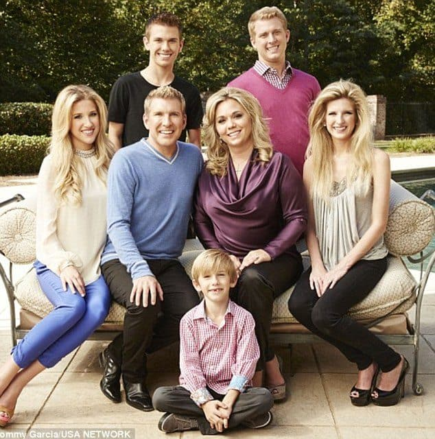 Todd Chrisley Children