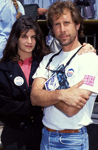 Parker Stevenson And Wife Kirstie Alley