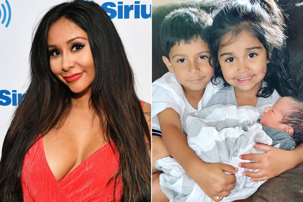 Snooki And her Children