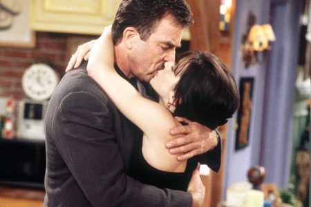 Tom Selleck And Courtney Cox
