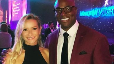 Angela Daniel and DeMarcus Ware