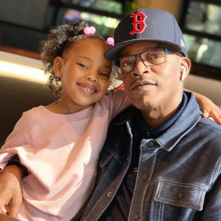 Brooke Payne with his granddaughter