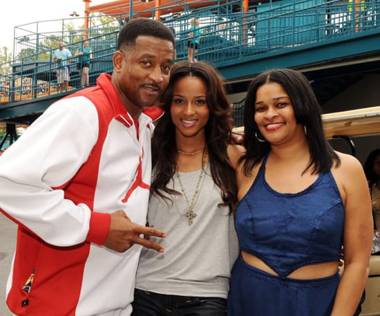 Ciara With Her Parents