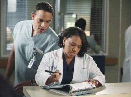 Daniel Sunjata as Dr. Eli in Grey's Anatomy