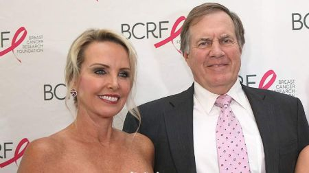 Bill Belichick and his wife Linda Holliday.