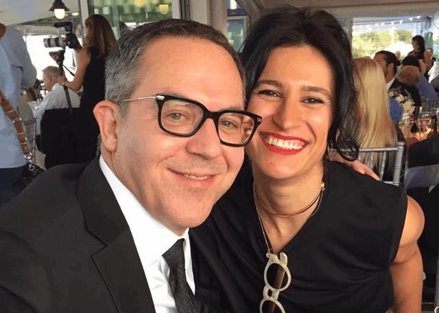Elena Moussa and Greg Gutfeld