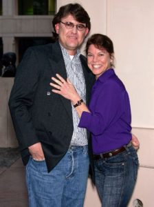 Erin Moran and husband Steven Fleischmann The Reality Awards at the Stock Photo, Royalty Free