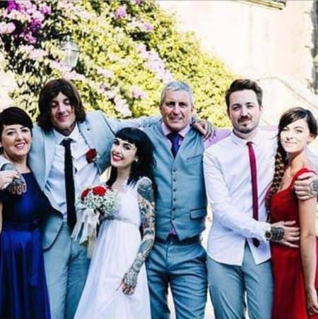 Hannah Pixie Snowdon wedding