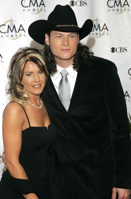 Kaynette Williams with her ex-husband Blake Shelton