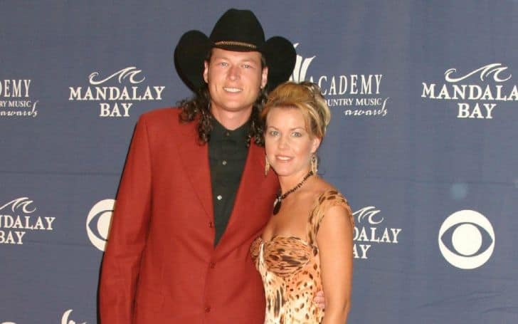 Kaynette Williams and her ex-husband Blake Shelton