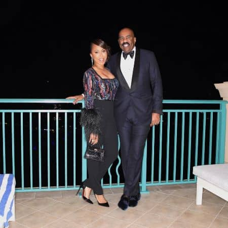Marjorie Elaine Harvey husband Steve Harvey