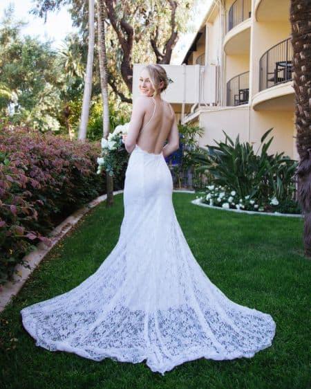 Lisa Peachy Wedding