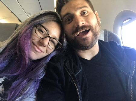 Adam Kovic with sweet, Wife Jessica  Auten