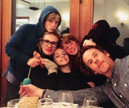 Hazel Moder family
