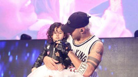 Photo of Richard Camacho  & his  Daughter  Aaliyah Sofía Camacho Alexander