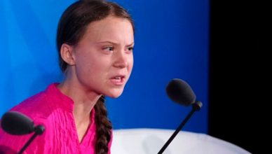 Greta Thunberg age
