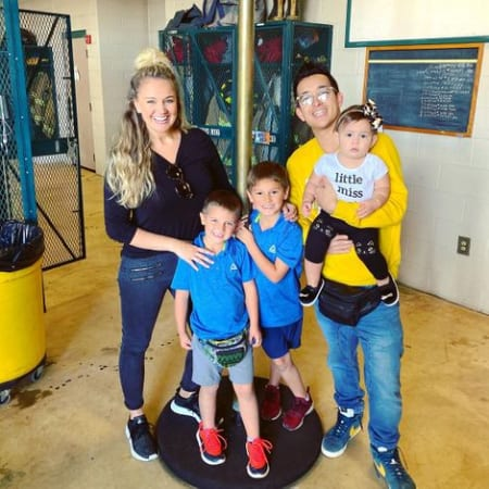 Tiffany Thornton husband and children