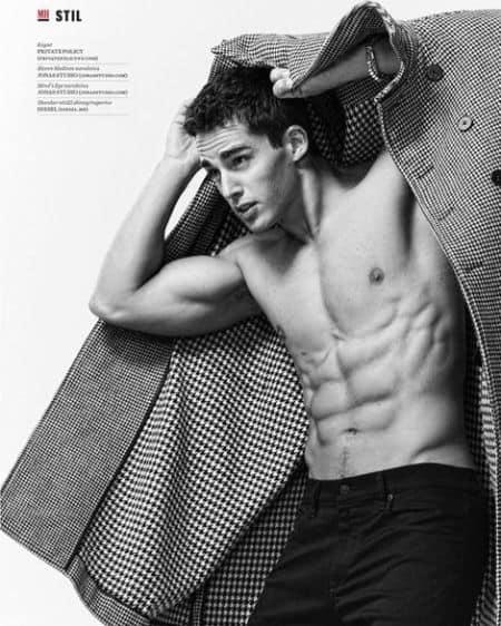 Pietro Boselli modeling