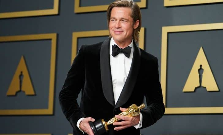 Brad Pitt Wins Oscar