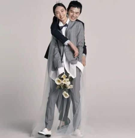 Kim Won Joong and Kwak Ji Young