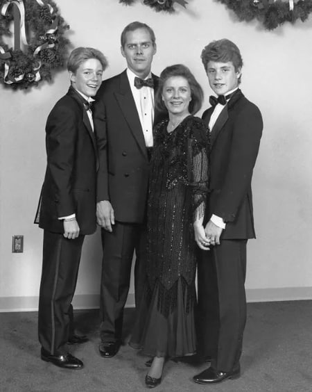 MacKenzie Astin family