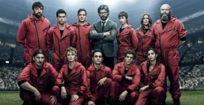 Netflix Money Heist season4