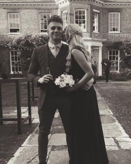 Joe Weller dating, girlfriend