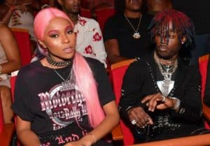 Lil Uzi Vert and his ex-girlfriend Brittany Byrd