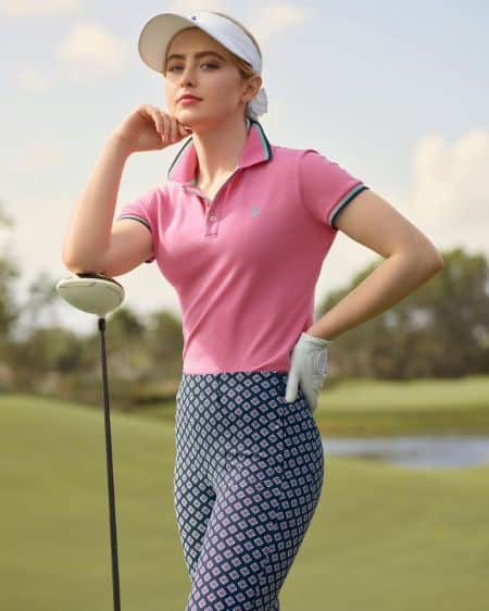 Kathryn Newton golf