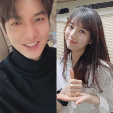 Bae Suzy and Lee Min-ho