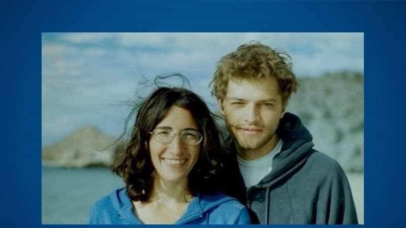 The high school couple, Victoria Vantoch and Misha Collins.