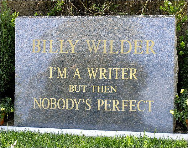 Cemetry of Billy Wilder.